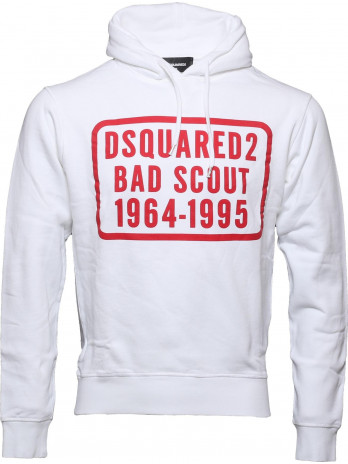 Hoodie Bad Scout - White