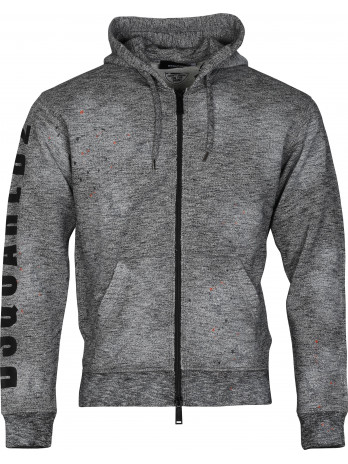 Hoodie with Zipper - Grey