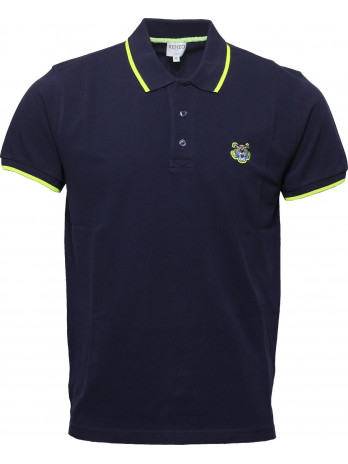 Tiger Poloshirt - Dark Blue
