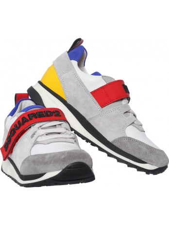 Kids Sneakers with Velcro-...