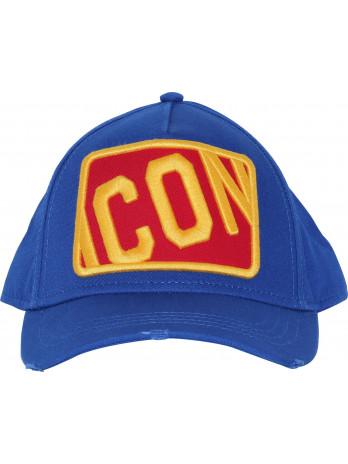 Baseball Cap Icon - Blue