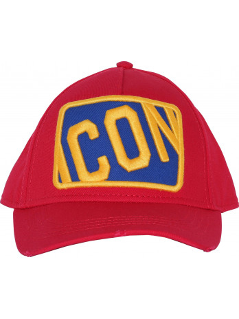 Baseball Cap Icon - Red