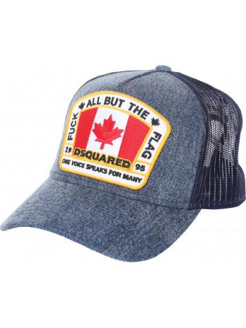 Denim Canada Flag