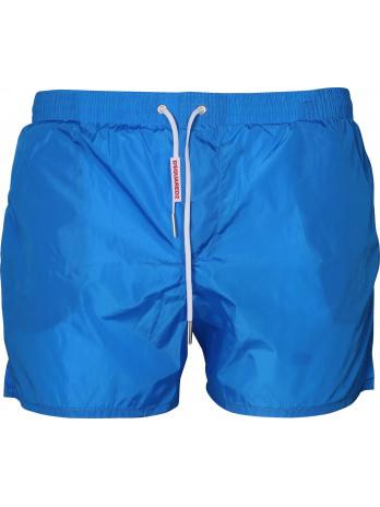 Swim Shorts with Logo Tag -...