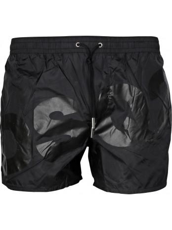 Dsq2 Logo Swim Shorts - Black