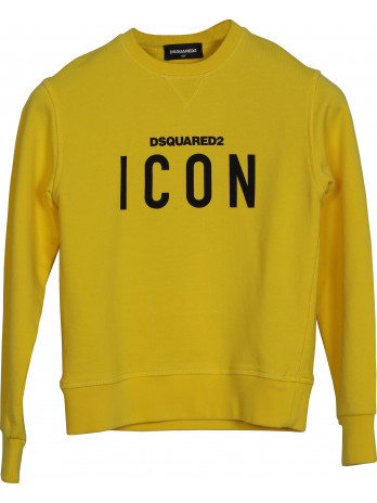 Icon Kids Sweater - Yellow