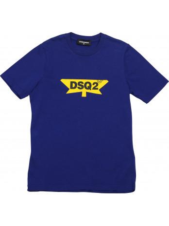 DSQ2 Kids T-Shirt - Blue