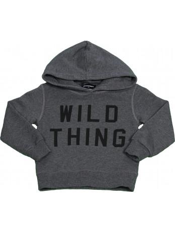 Kids Wild Thing Hoodie - Grey