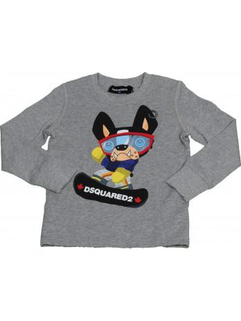 Kids Dog Sweatshirt - Grey
