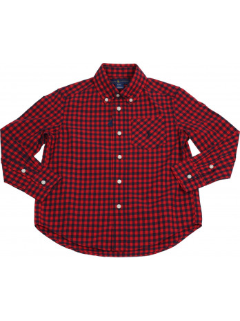 Kids Long Sleeve Shirt - Red
