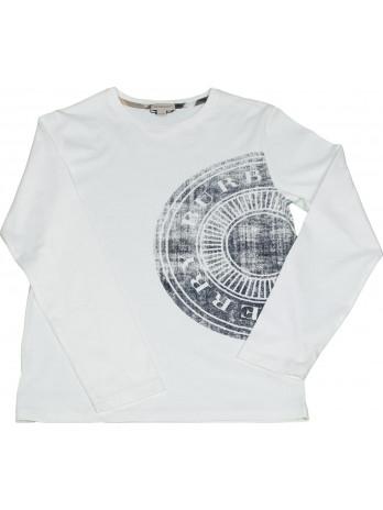 Kids Long Sleeve Shirt - White