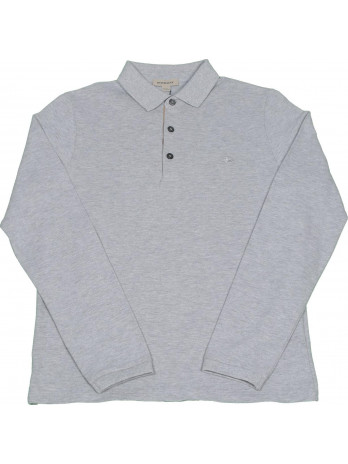 Kids Polo Shirt - Grey