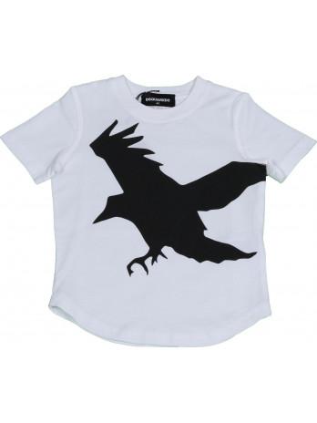 Kids Bird T-Shirt - White