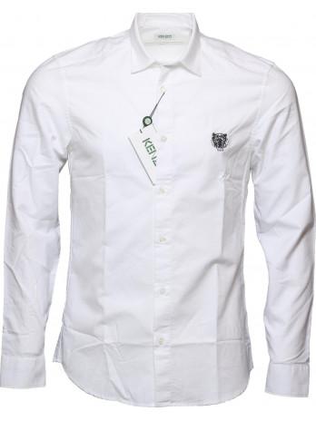 Tiger Logo Shirt - White