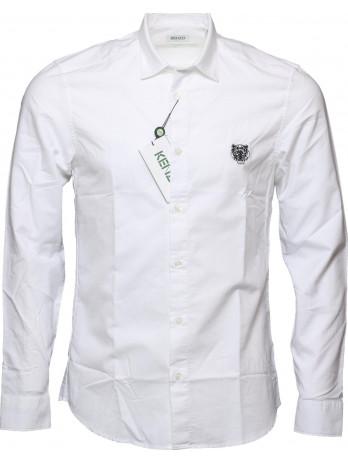 Slim Fit Hemd - White