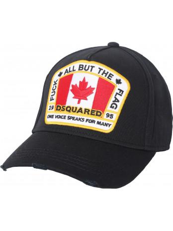Canada Flag - Black