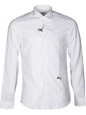 Slim Fit Shirt - White