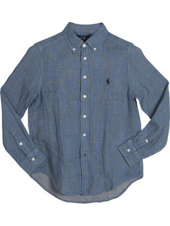 Kids Long Sleeve Shirt - Blue