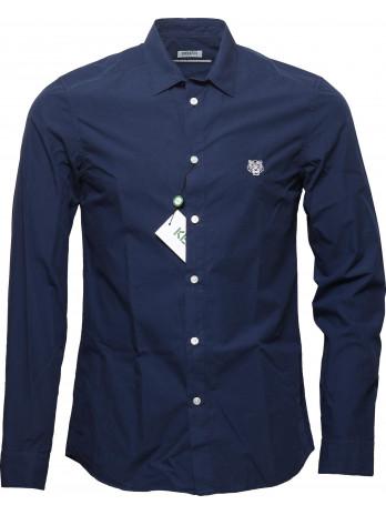 Tiger Logo Shirt - Blue