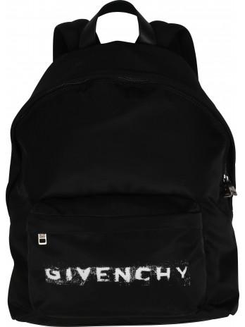Faded Logo Backpack - Black