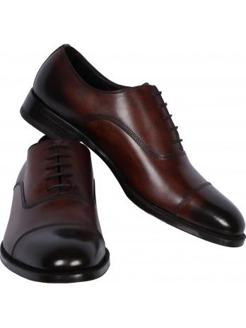 Vintage Look Lace-up Shoe -...
