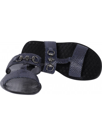 Sandals with Logo Details -...