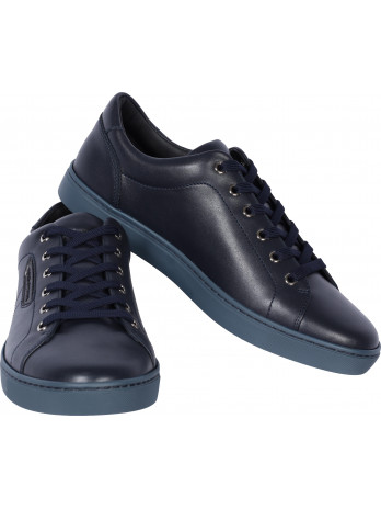 D&G Leather Sneakers - Blue
