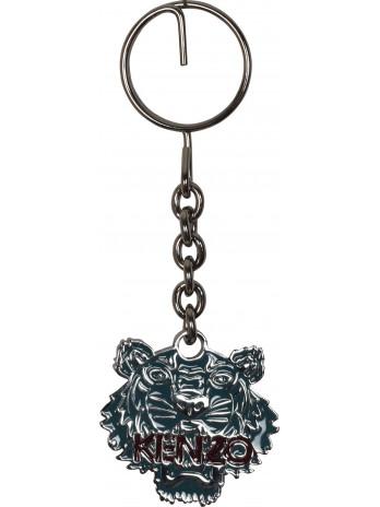 Tiger Keychain - Blue