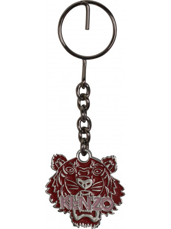 Tiger Keychain - Red
