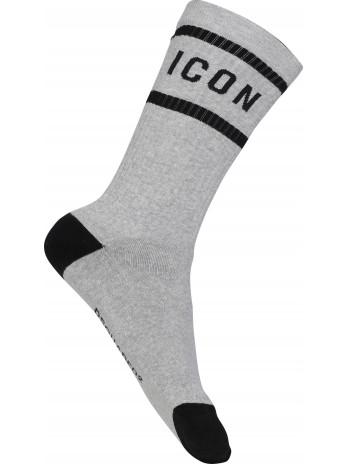 Mid-Crew Socks Icon -...
