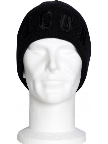 Embroidered Icon Beanie -...