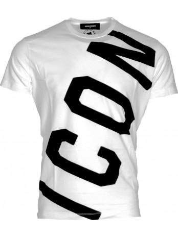 Diagonal Icon Logo T-Shirt...