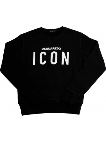 Icon Kids Sweater - Black