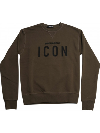 Icon Kids Sweater - Green