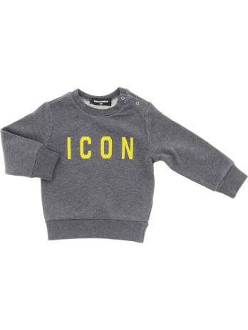 Baby Icon Sweater - Grey