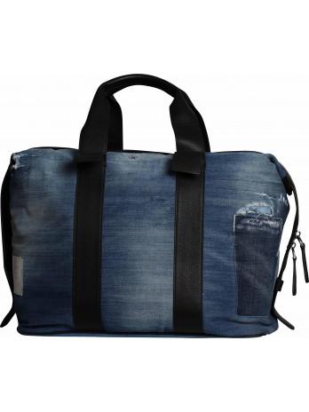 Travel Bag Denim Style - Blue