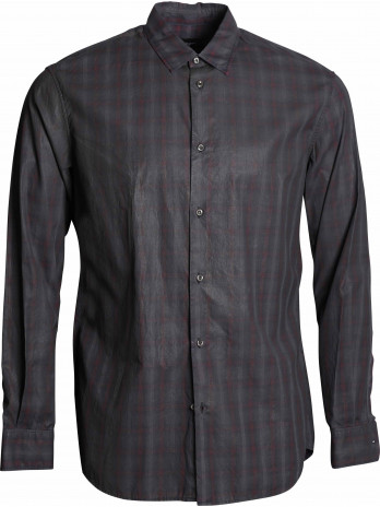 Casual Fit Shirt - Black/Red