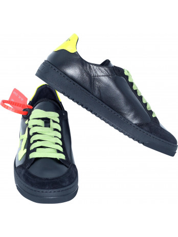 2.0 Leather Sneakers - Black