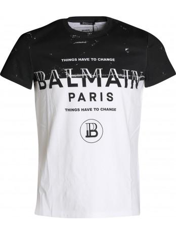 Bicolor Logo T-Shirt -...