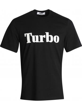 MSGM Turbo Logo T-Shirt -...