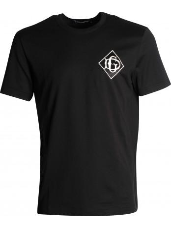 Logo patch T-Shirt - Black