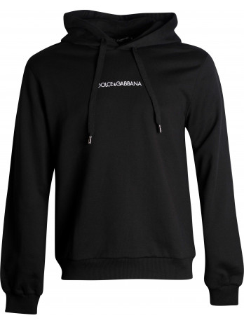 Embroidered Logo Hoodie -...