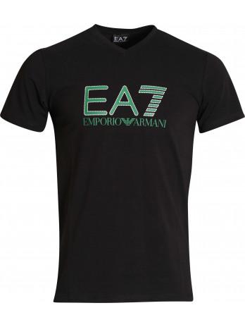 EA7 Logo T-Shirt - Black