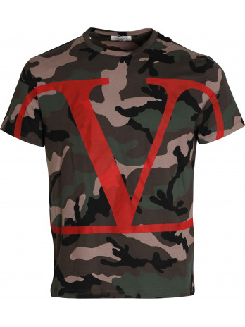 Camouflage T-Shirt -...