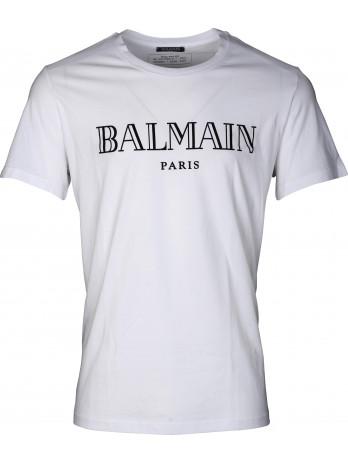Velvet Logo T-Shirt - White