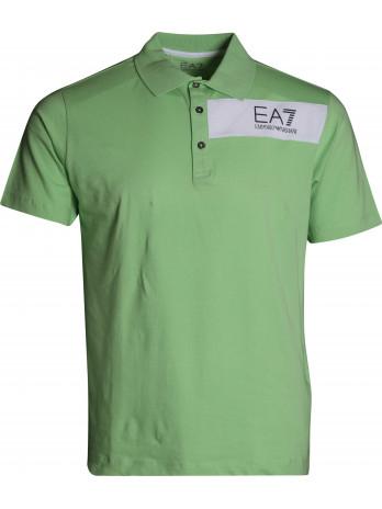 Poloshirt with Logoprint -...