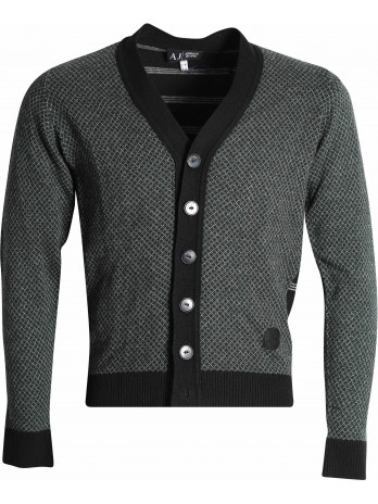 V Neck Sweater - Black
