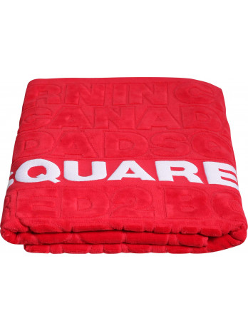 Bath Towel - Red