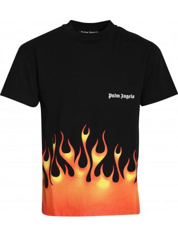 Flames T-Shirt - Black