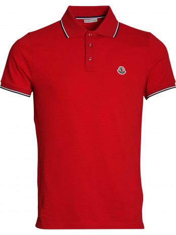 Poloshirt with Logo Patch